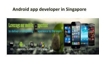 Android app developer in Malaysia