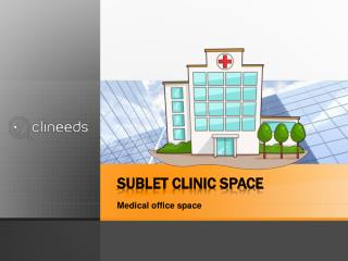 Consulting rooms for rent