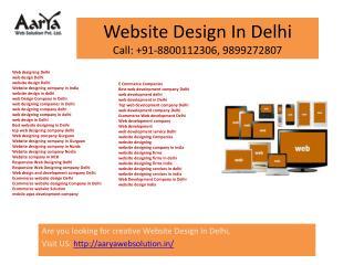 web designing company delhi, Responsive Web Designing Delhi