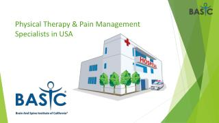 Physical Therapy & Pain Management Specialists in USA