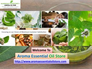 Top Grade Quality of Carrier & Base Oils at Aroma Essential Oil Store