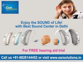 Hearing aid dealers delhi Call @  91-8826144452