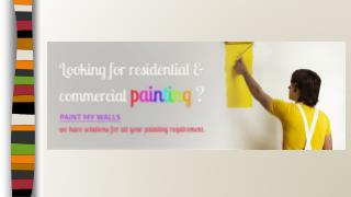 Painting Services in Bangalore - PaintMyWalls