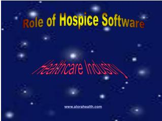 Role of Hospice Software in Healthcare Industry