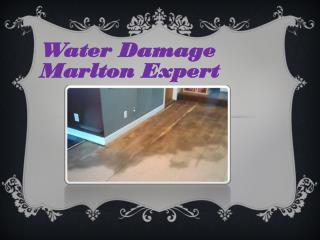 Water Damage Marlton