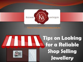 Buying jewellery from the right Dealer