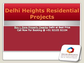 Delhi Heights Residential Projects Delhi