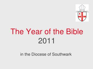 The Year of the Bible  2011