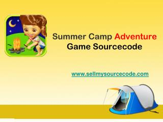 Summer Camp Adventure Game Sourcecode