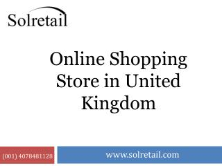Online Shopping Store in United Kingdom