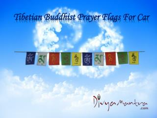 Tibetian Buddhist Prayer Flags For Car