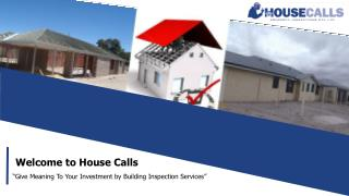 Reach Housecalls Property Inspections for Building Inspection Services