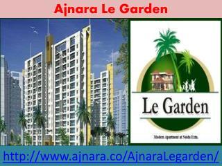 Ajnara Le Garden With Exclusive Designed
