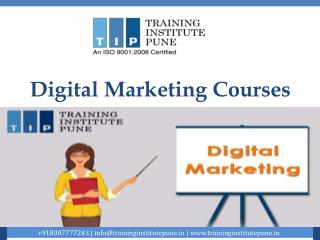 The Leading Digital Marketing Training Institute in Wakad and Kothrud in Pune