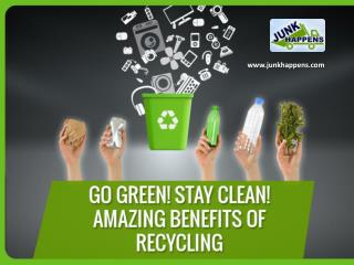 Environmental Benefits of Recycling