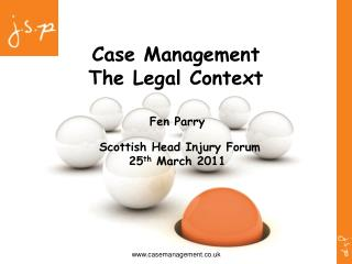 Case Management The Legal Context
