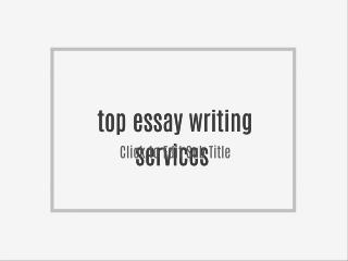 Top Essay Writing Service Reviews - Real time Essay Writing Editors