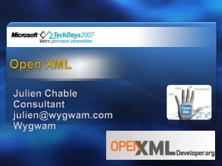 Open XML