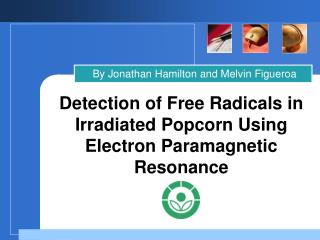 Detection of Free Radicals in Irradiated Popcorn Using Electron Paramagnetic Resonance