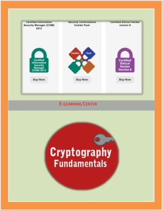 Security Certifications Exams Courses
