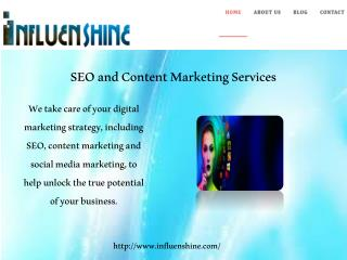 SEO and Content Marketing Services