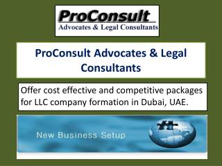 Reliable Company Formation Services in Dubai, UAE