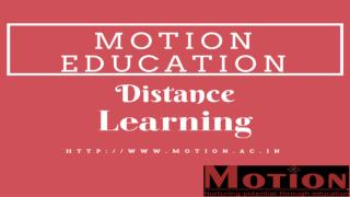 Distance Learning Program for JEE, Distance Learning for IIT JEE, Distance Learning for AIIMS