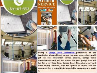 Ppt Garage Door Repair Specialists In Greensboro