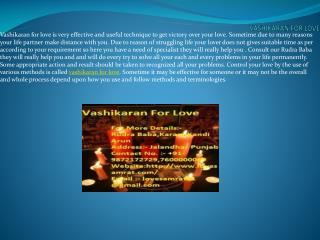 Control Someone With Use Of Vashikaran For Love