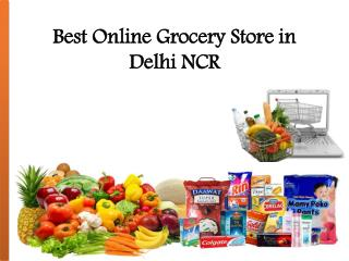 Online grocery shopping delhi