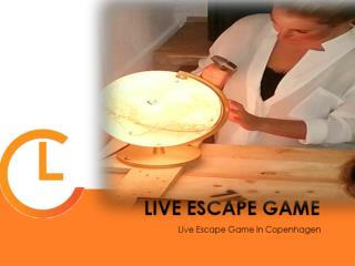 Mystery Play Escape Game Live