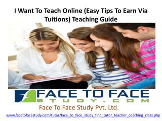 Online Teacher In Delhi For International Level Of Learning
