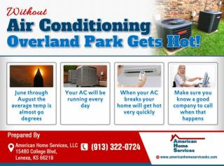 Without Air Conditioning Overland Park Gets Hot!