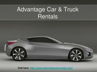 Car and Truck Rental Downtown Toronto