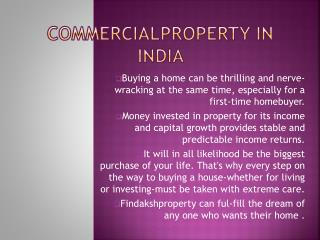 commercial property in Gurgaon is Hotspot in Ncr