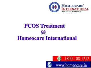 Integrated Homeopathy a way to cure painful PCOS disorders