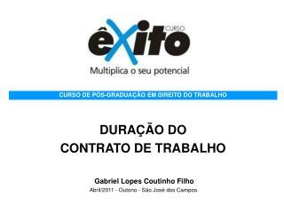 DURAÇÃO DO  CONTRATO DE TRABALHO