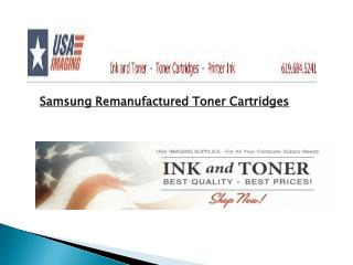 Samsung Remanufactured Toner Cartridges