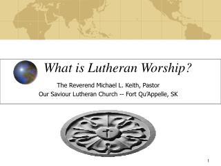 What is Lutheran Worship?