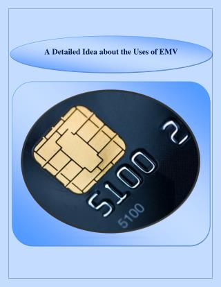 A Detailed Idea about the Uses of EMV