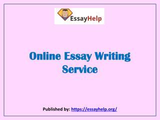 Essay Help-Online Essay Writing Service