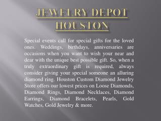 In Houston Diamond Rings Are Available At Low Price!!