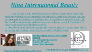 Beauty Salon, Wedding Hair Stylist, Bridal Hair Packages, Eyelash Extensions and Natural Hair Care National City CA