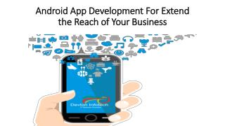 android apps development services | Hire android app developers - Devlon Infotech