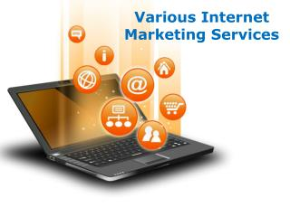 Various Internet Marketing Services