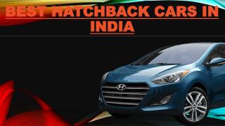 The List of Best hatchback cars in india