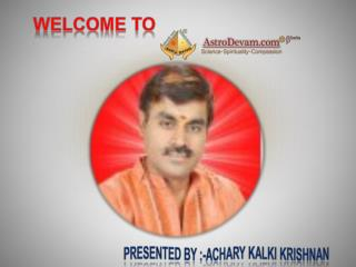 Best Astrologer in India, Famous Astrologer ?chary Kalki Krishnan