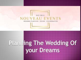 Nouveau Events | Wedding Planner and Coordinator North Carolina