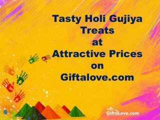 Tasty Holi Gujiya Treats at Attractive Prices on Giftalove.com!