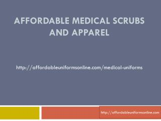 MEDICAL SCRUBS & APPAREL